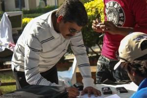 A VW owner registering for VWCOP.